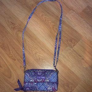 Vera Bradley cross body bag/hand bag
